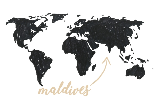 carte maldives