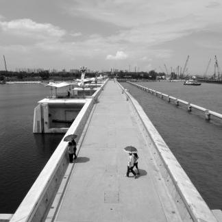 promenade du barrage