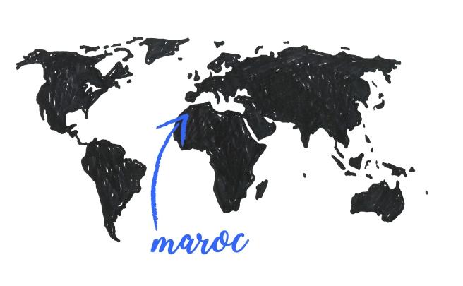 map maroc