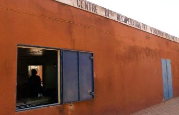 Le CREN de Ouagadougou accueille chaque jour des enfants malnutris. Ouagadougou, BURKINA FASO - 16/12/2005