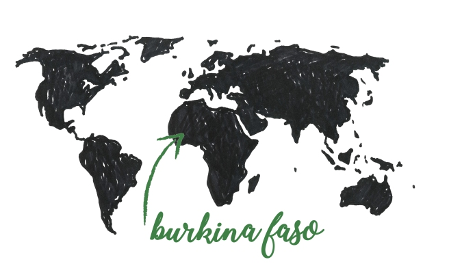 burkina map